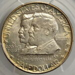 1937 ANTIETAM COMMEMORATIVE HALF SUBERB GEM PCGS/CAC MS 66 ORIGINAL SKIN