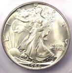 1944 WALKING LIBERTY HALF DOLLAR 50C COIN   CERTIFIED ICG MS67   $1 070 VALUE