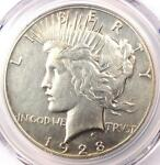 1928 PEACE SILVER DOLLAR $1   PCGS XF DETAILS  EF     1928 P KEY DATE COIN