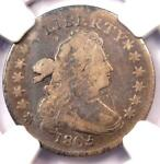 1805 DRAPED BUST DIME 10C JR 2   CERTIFIED NGC FINE DETAILS    COIN