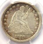 1889 SEATED LIBERTY QUARTER 25C   CERTIFIED PCGS XF DETAILS    DATE COIN