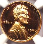 1950 PROOF LINCOLN WHEAT CENT 1C   NGC PR66 RB CAMEO  PF66 CAM     GRADE