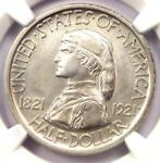 1921 MISSOURI HALF DOLLAR 50C COIN   NGC UNCIRCULATED DETAILS  UNC MS BU