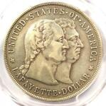 1900 LAFAYETTE SILVER DOLLAR $1   PCGS VF DETAILS    CERTIFIED COIN