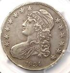 1834 CAPPED BUST HALF DOLLAR 50C   PCGS XF40  EF40     CERTIFIED COIN