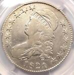 1824/VARIOUS DATES CAPPED BUST HALF DOLLAR 50C   PCGS VF DETAILS    VARIETY