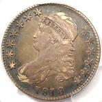 1818 CAPPED BUST HALF DOLLAR 50C   PCGS XF40  EF40     CERTIFIED COIN