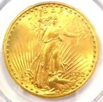 1922 S SAINT GAUDENS GOLD DOUBLE EAGLE $20   PCGS MS64  PLUS GRADE   $8500 VALUE