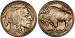 1929 D BUFFALO NICKEL PCGS MS 64 CRISP LUSTER AND SPLASH OF COLOR ON BOTH SIDES