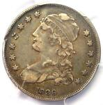 1836 CAPPED BUST QUARTER 25C   PCGS XF DETAILS  EF     DATE COIN