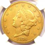 1876 CC LIBERTY GOLD DOUBLE EAGLE $20   NGC XF DETAILS  EF    CARSON CITY COIN