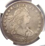 1795 DRAPED BUST SILVER DOLLAR  $1 COIN SMALL EAGLE    CERTIFIED NGC VF DETAIL