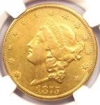 1875 CC LIBERTY GOLD DOUBLE EAGLE $20   NGC XF DETAILS  EF    CARSON CITY COIN