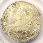 1812/1 CAPPED BUST HALF DOLLAR 50C O 102   ANACS VF20 DETAILS    OVERDATE