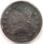 1812 CLASSIC LIBERTY LARGE CENT 1C COIN   ANACS VF30 DETAILS    DATE PENNY