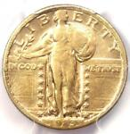 1923 S STANDING LIBERTY QUARTER 25C COIN   PCGS VF35    DATE   $1 250 VALUE