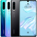 "Huawei P30 128GB 6GB RAM ELE-L29 (Factory Unlocked) 6.1"" 40MP"