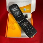 New Samsung Rugby 2 II A847 3G AT&T ,T-Mobile GSM (Unlocked )Flip Phone Black