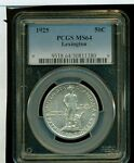 1925 PCGS MS64 LEXINGTON COMMEMORATIVE HALF DOLLAR