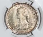 1921 MISSOURI MS 65 50 CENT UNCIRCULATED SILVER COMMEMORATIVE GRADED NGC