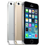 """Unlocked Apple iPhone 5S 4G 4"""" Smartphone Silver/Gray/Gold 3 Colors"""