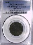 1864 TWO CENT PCGS GENUINE ENV. DAMAGE   F DETAILS LARGE MOTTO 27979690