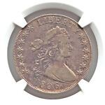 1806 NGC VF DETAILS NICE STK DRAPED BUST HALF DOLLAR TYPE COIN OVERTON DOUBLED T