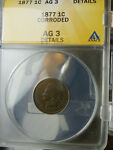 1877 ANACS AG3 INDIAN CENT  PLEASE CHECK OUT MY OTHER ITEMS