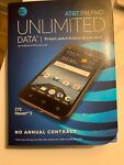 Brand New ZTE Maven 3 Prepaid Smartphone (AT&T) Black Free Shipping z835