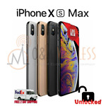 NEW* Apple iPhone XS MAX 64GB │ 256GB │512GB (A1921 Factory Unlocked) All colors