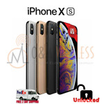 NEW* Apple iPhone XS 64GB │ 256GB │512GB(A1920 Factory Unlocked) All Colors ⚫⚪🟡