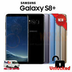 NEW Samsung Galaxy S8 PLUS (SM-G955U1, GSM+CDMA Factory Unlocked) - All Colors!