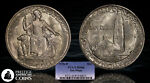 1936 D SAN DIEGO COMMEMORATIVE HALF DOLLAR PCGS MS66   GREAT LUSTER