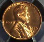 1956 D 1C LINCOLN WHEAT CENT PCGS MS66RD