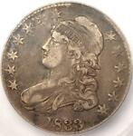 Us 1807 1836 Capped Bust Lettered Edge Half Dollar History