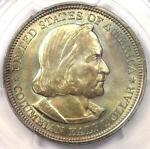 1892 COLUMBIAN EXPOSITION HALF DOLLAR 50C. PCGS MS66.  IN MS66. $1,000 VALUE