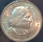 1892 COLUMBIAN EXPEDITION HALF DOLLAR CERTIFIED ANACS MS63