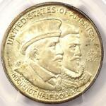 1924 HUGUENOT SILVER HALF DOLLAR 50C   PCGS MS67 CAC PQ   $1,500 VALUE