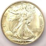 1943 S WALKING LIBERTY HALF DOLLAR 50C COIN   CERTIFIED ICG MS65   $225 VALUE