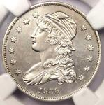 1836 CAPPED BUST QUARTER 25C   NGC AU DETAILS    EARLY DATE COIN IN AU