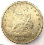 1878 S TRADE SILVER DOLLAR T$1 COIN   ICG XF40 EF40    CERTIFIED COIN