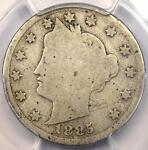 1885 LIBERTY NICKEL 5C   PCGS AG3    KEY DATE CERTIFIED COIN