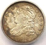 1835 CAPPED BUST DIME 10C   ICG MS60 DETAILS    UNCIRCULATED COIN