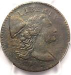 1794 HEAD OF 1794 S 55 LIBERTY CAP LARGE CENT 1C   PCGS VF DETAIL    PENNY