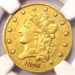 1836 CLASSIC GOLD HALF EAGLE $5   NGC XF DETAIL    EF CERTIFIED GOLD COIN