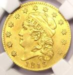 1813 CAPPED BUST GOLD HALF EAGLE $5   CERTIFIED NGC AU DETAIL    GOLD COIN