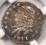1811/09 CAPPED BUST DIME 10C JR 1   NGC VF DETAIL    OVERDATE COIN