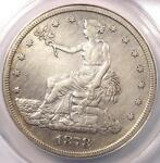 1878 S TRADE SILVER DOLLAR T$1   ANACS XF40 DETAIL  EF40     CERTIFIED COIN