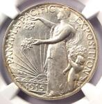 1915 S PANAMA PACIFIC HALF DOLLAR 50C COIN   NGC UNCIRCULATED DETAILS  UNC MS