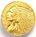 1909 D INDIAN GOLD HALF EAGLE $5 COIN   ICG MS65    IN MS65   $8 440 VALUE
